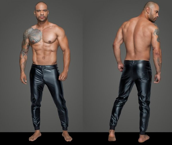 NOIR HANDMADE POWERWETLOOK TREGGINGS